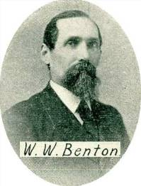 W.W. Benton - Ilion Businessman and father of Will Benton IHS Class of 1888