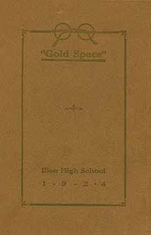 1922 Ilion Yearbook