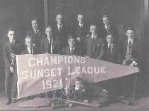 Ilion 1931 Bat Boy for 1921 Sunset League Champions