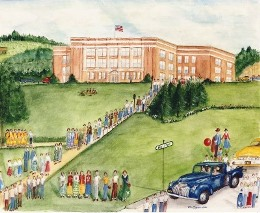 Ilion High School Commissioned Art by James Parker