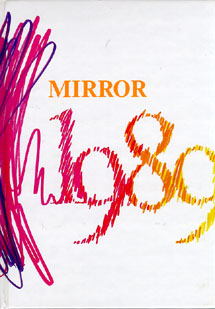 1989 Mirror Cover  Ilion High School