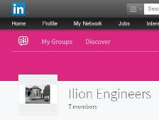 Ilion LinkedIn Networking Group