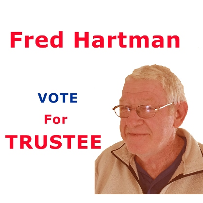 1965 Alumnus Fred Hartman - Ilion Village Trustee