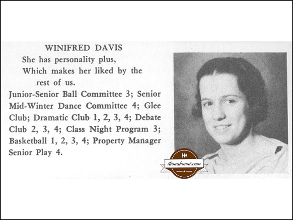 IHS Class of 1935 Winifred (Davis) Metter