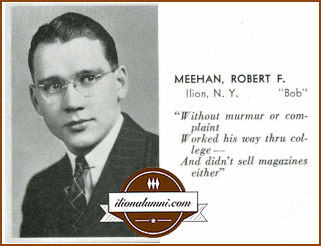 Robert Meehan Albany College of Pharmacy Yearbook 1939